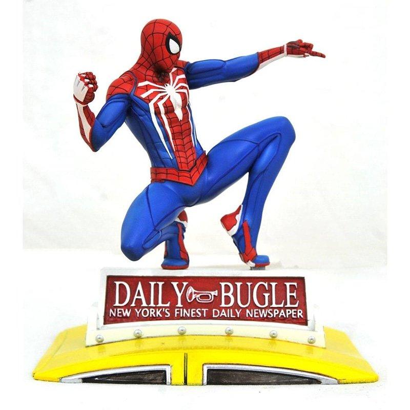 Статуетка Diamond Select Toys Marvel Gallery PS4 Spider-Man on Taxi, арт. 201925 1
