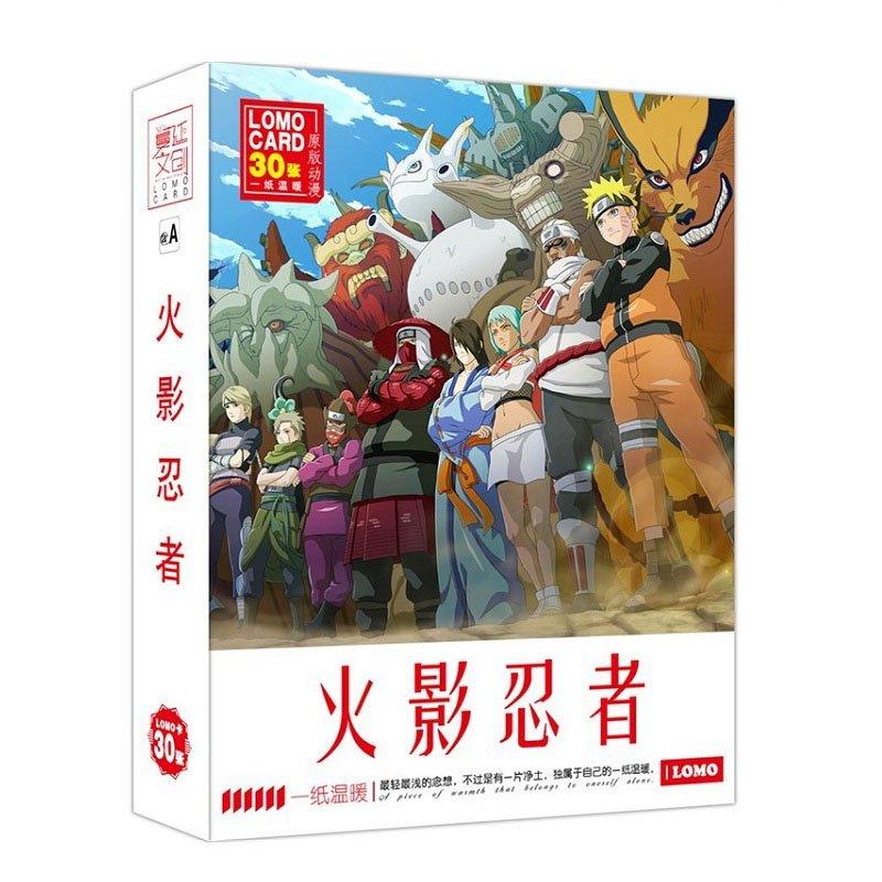 Набор ломо-карт Anime - Naruto Lomo Card Set, арт. 635535 1