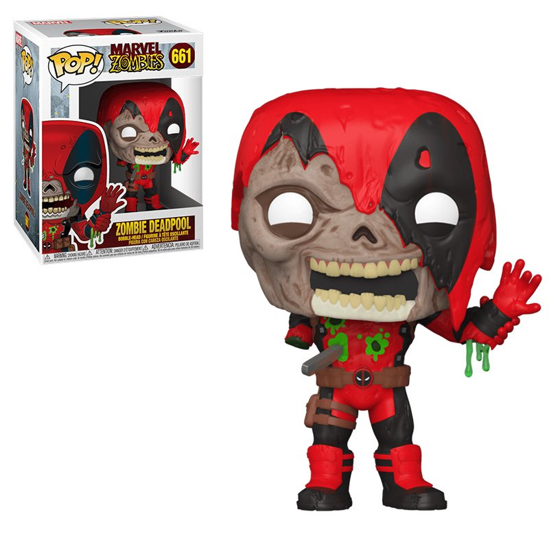 Фігурка Funko POP! Marvel Zombies - Deadpool Vinyl Figure 10cm, арт. 49126 1