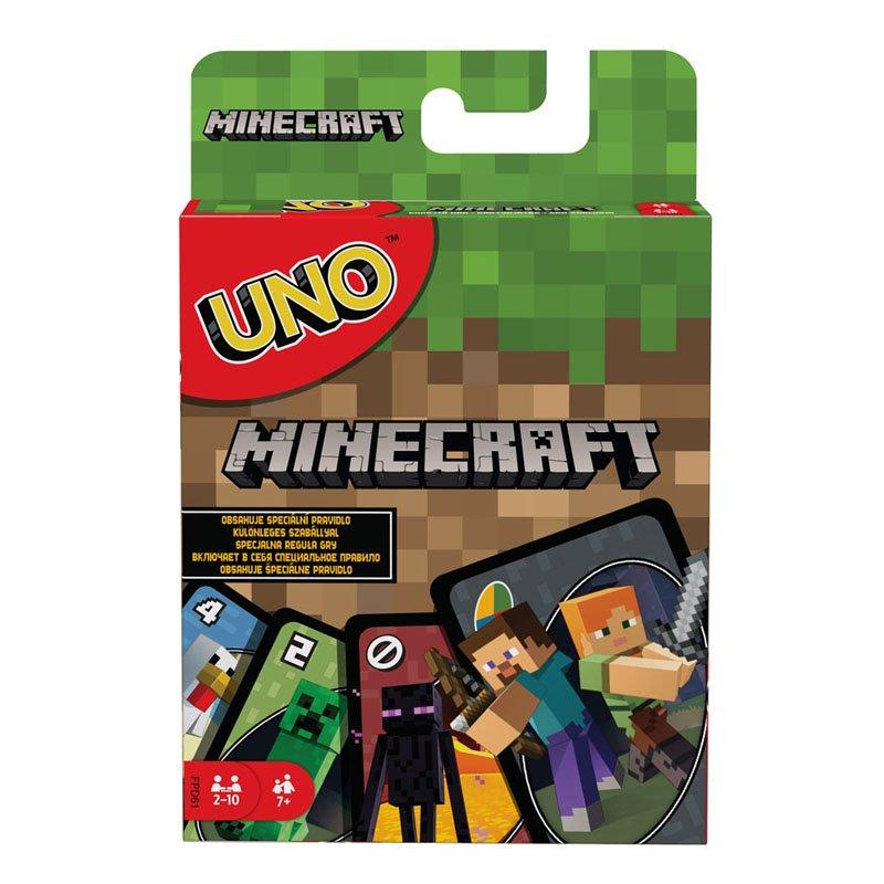 Настольная игра Uno - Minecraft Card Game, арт. 60678 1