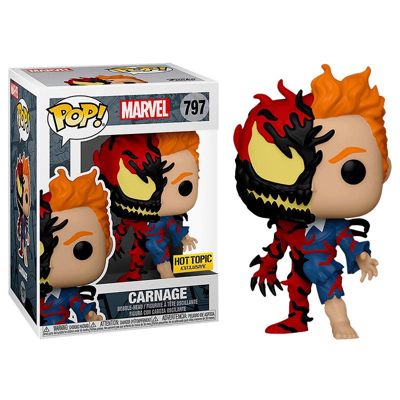 Фігурка Funko POP! Marvel - Carnage Hot Topic Exclusive, арт. 54615 1