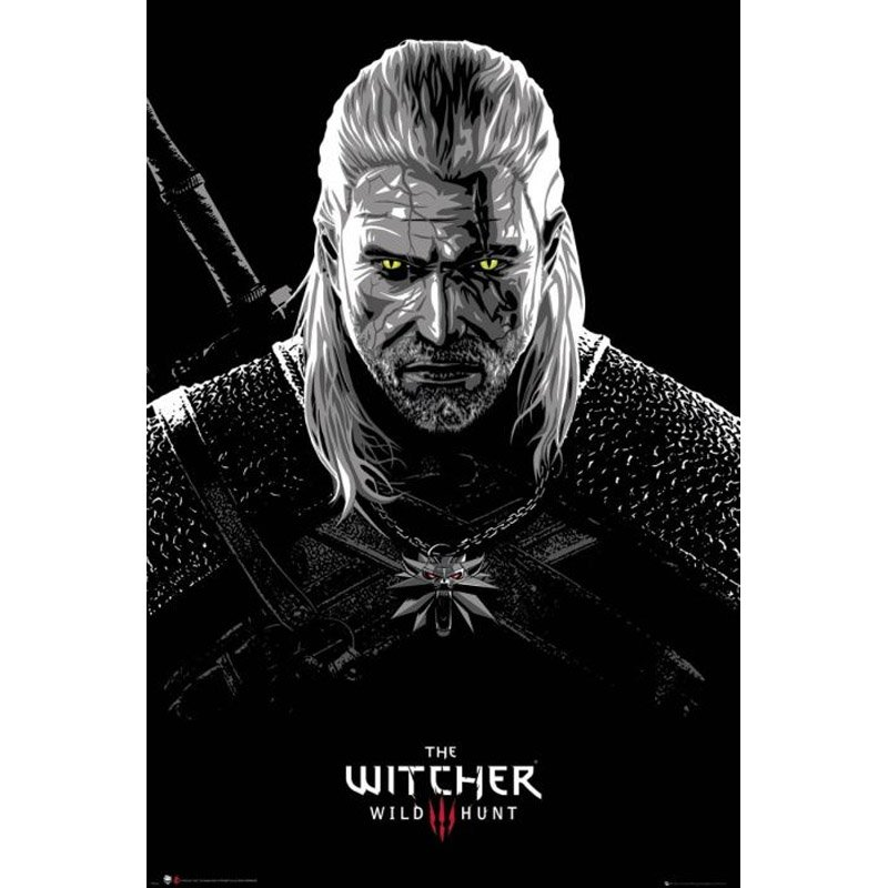 Постер Maxi GB Eye The Witcher: Toxicity Poisoning, арт. 482115 1