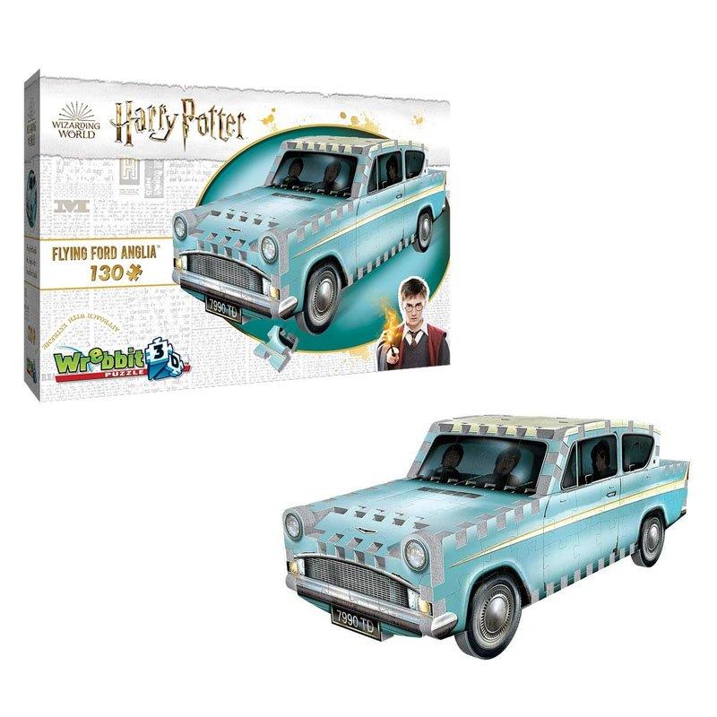 3D Пазли Harry Potter - Weasley car - Wrebbit 3D puzzle, арт. 2021 1