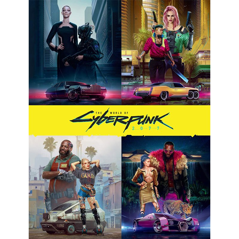 Книга The World of Cyberpunk 2077 Hardcover (EN), арт. 713588 1