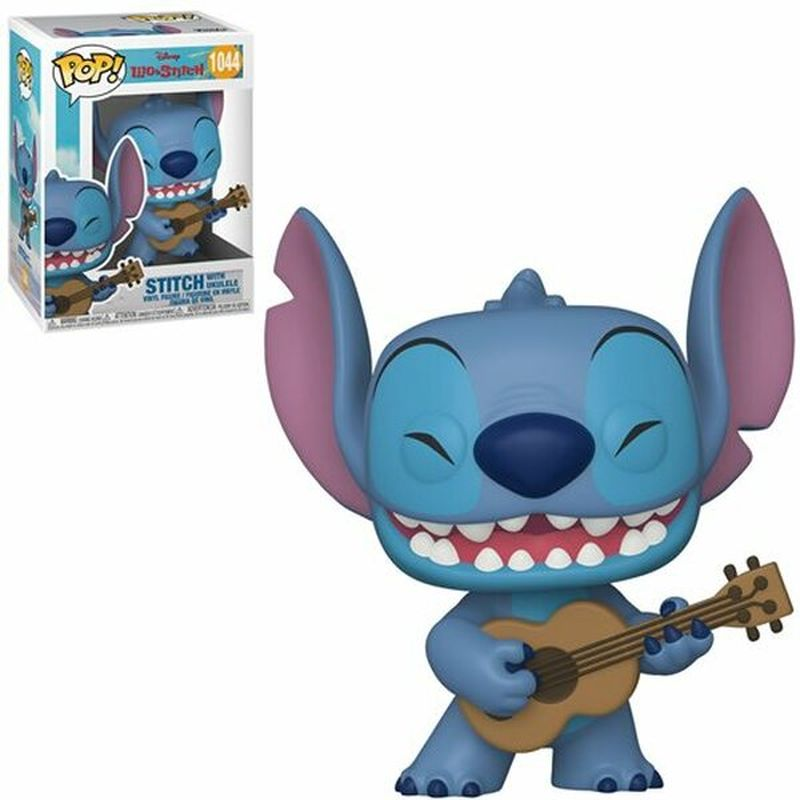 Фігурка Funko POP! Lilo & Stitch - Stitch w/Ukelele 10cm, арт. 55615 1