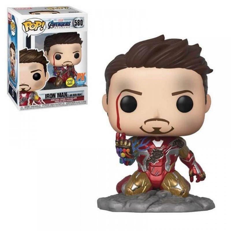 Фігурка Funko POP! Marvel: Avengers - Iron Man [I am Iron Man] GITD PX Previews Exclusive, 47096 1