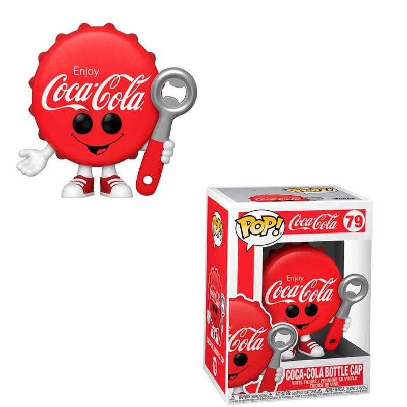Фігурка Funko POP! Coke - Coca-Cola Bottle Cap Vinyl Figure 10cm, арт. 53060 1
