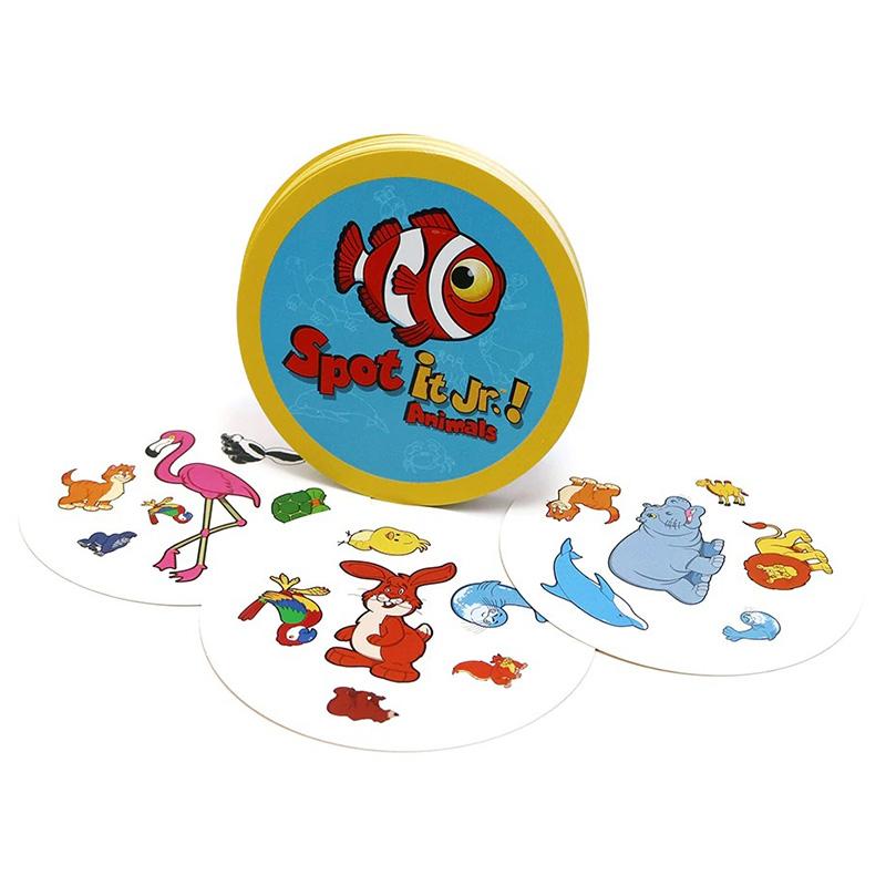Настільна гра Dobble - Spot it Jr.! Animals, арт. 900414 1