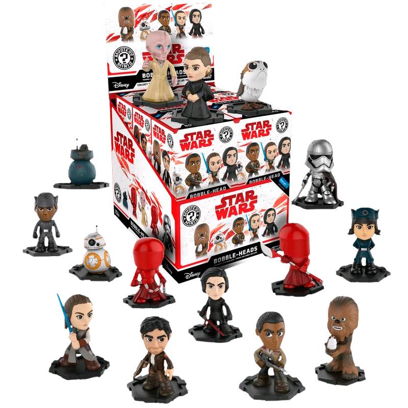 Фігурка Funko POP! Mystery Minis - Star Wars The Last Jedi Assortment #2 Vinyl Figures Display Box 21945 1