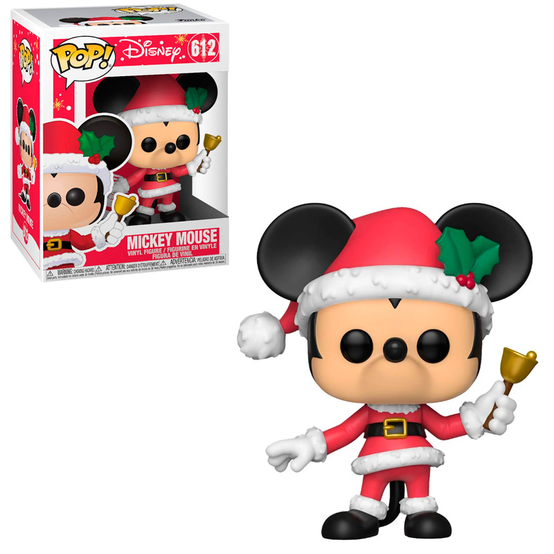 Фігурка Funko POP! Holiday - Mickey Vinyl Figure 10cm, 43327 1