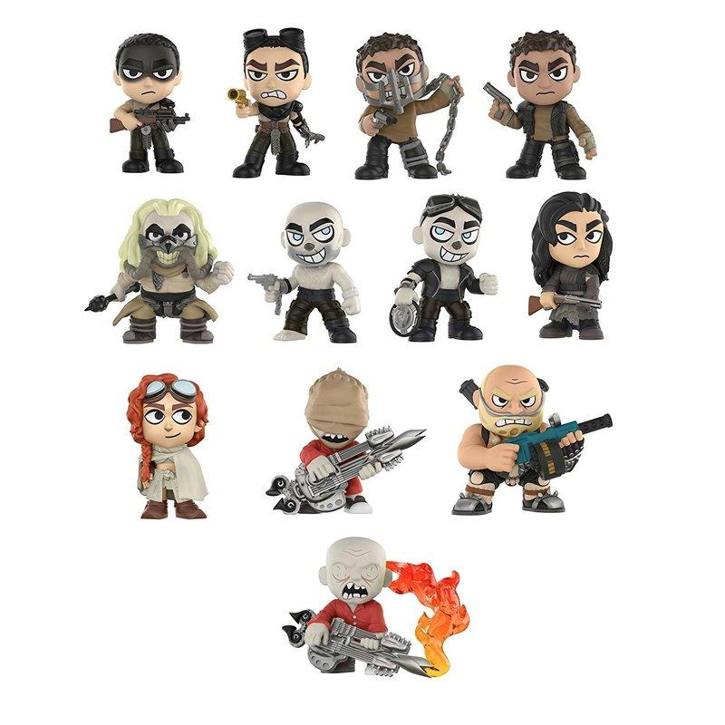 Набір фігурок Funko Mystery Minis - Mad Max: Fury Road 12 Mini-Vinyl Figures Display (random packaged blind boxes), 28024, 10 cm 1