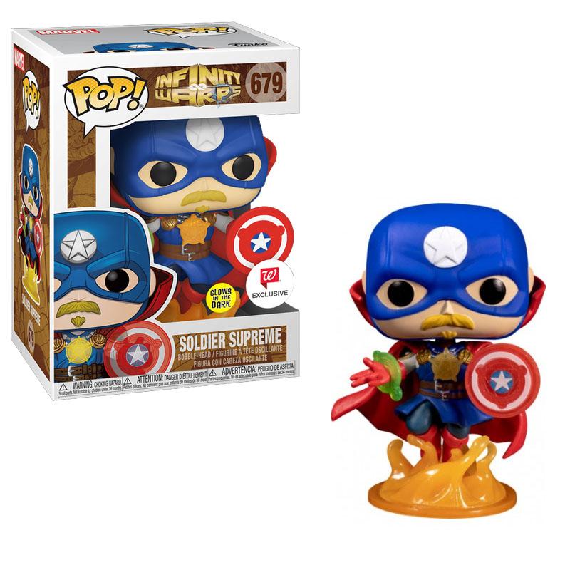 Фігурка Funko POP! Infinity Warps: Soldier Supreme - W exclusive Glows in the dark, арт. 36820 1