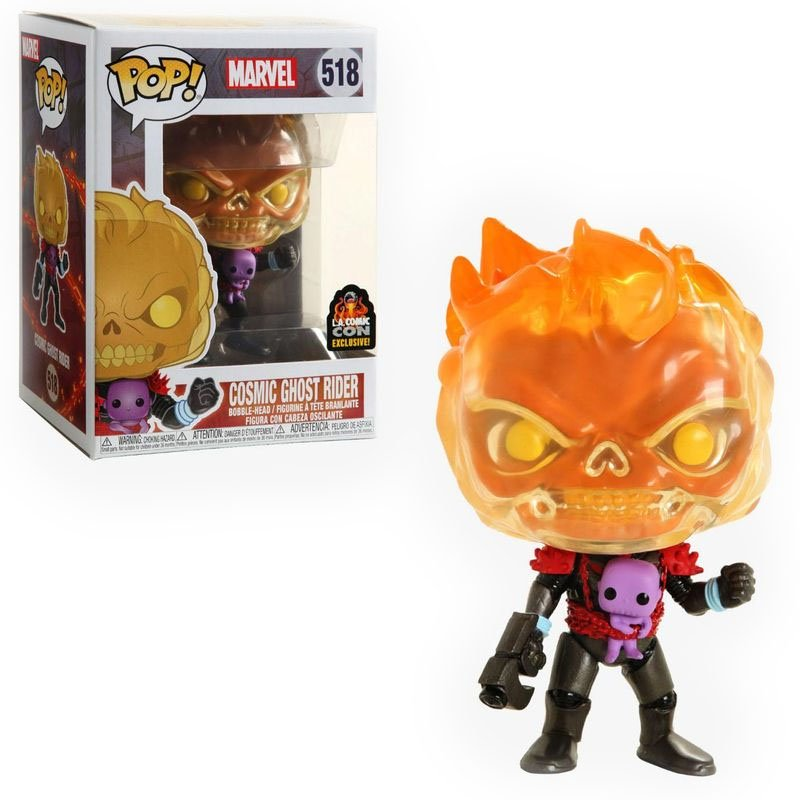 Фигурка Funko POP! Marvel - Comics Ghost Rider L.A. Comic Con Exclusive, арт. 43003 1
