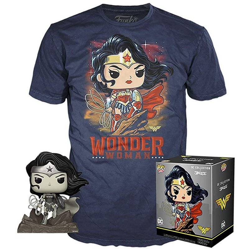 Коробка набор DC Collection by Jim Lee - Wonder Woman, L, арт. 39838 1