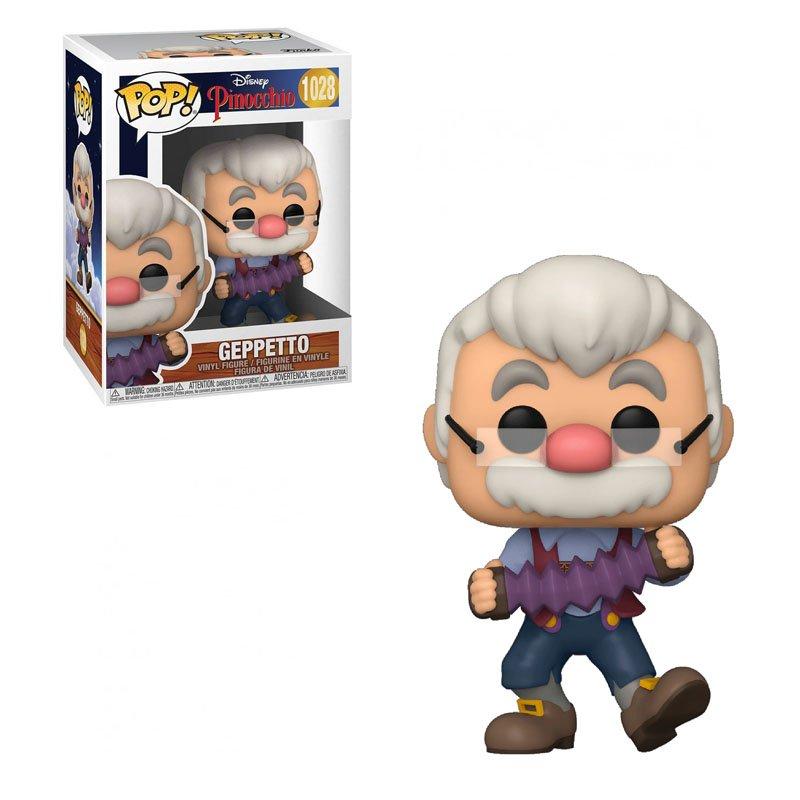 Фігурка Funko POP! Pinocchio - Geppetto w/ accordion 10cm, арт. 51536 1