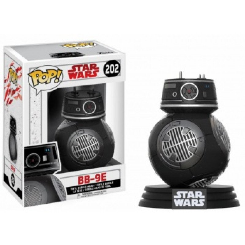 Фігурка Funko POP! Star Wars Episode 8 The Last Jedi - BB-9E Bobble Head, 14751, 10см 1
