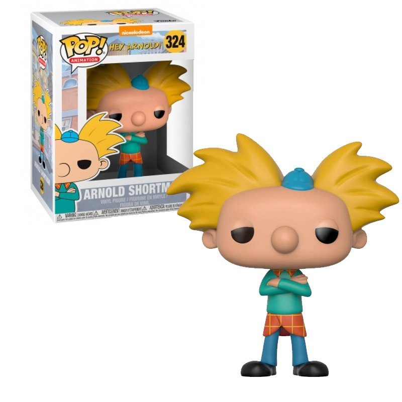 Фігурка Funko POP! Television Nickelodeon 90's TV 90's Nickelodeon W2 - Arnold Figure, 13542, 10см 1