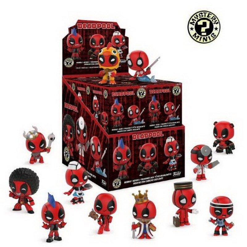 Фігурка FUNKO MYSTERY MINIS - Deadpool S1, 6 см, 30975 1
