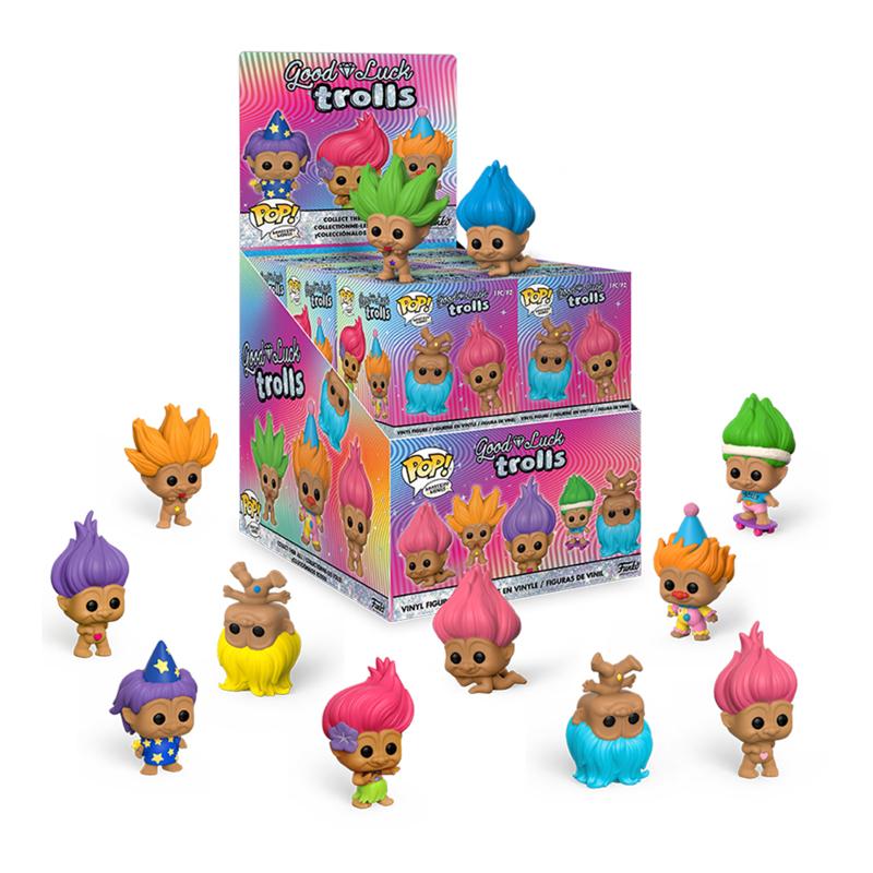 Фігурка Funko Mystery Minis - Trolls Classic Display Box (12 random figures), 6 см, 46207 1