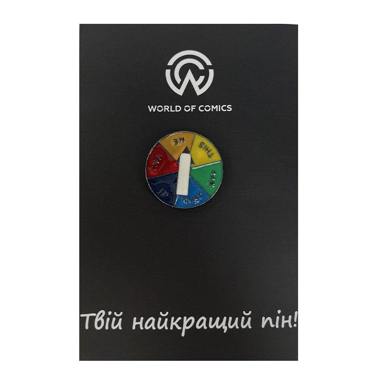 "Металлический значок (пин) Wheel of Fortune ""Me"", арт. 10999 1"