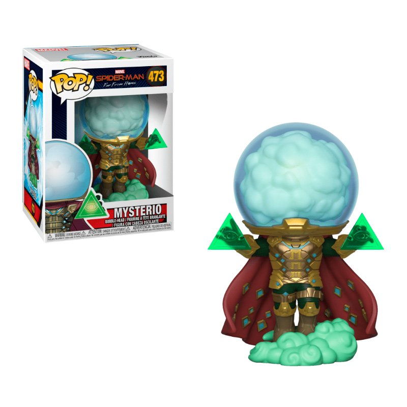 Фігурка Funko POP! Spider-Man: Far From Home - Mysterio Vinyl Figure, 39206, 10см 1