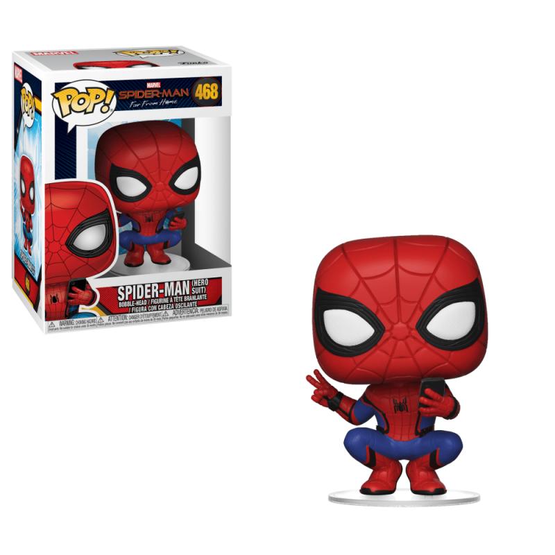 Фігурка Funko POP! Spider-Man: Far From Home - Spider-Man (Hero Suit) Vinyl Figure, 39403, 10см 1