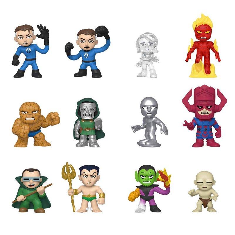Фігурка Funko Mystery Minis - Fantastic Four Display Box (12 random figures), 6 см, 45017 1