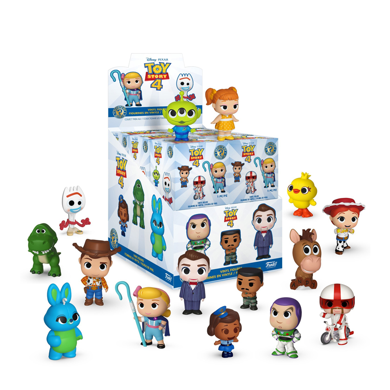 Funko Mystery Minis - Toy Story 4 Display Box (12 figures random packaged) 1