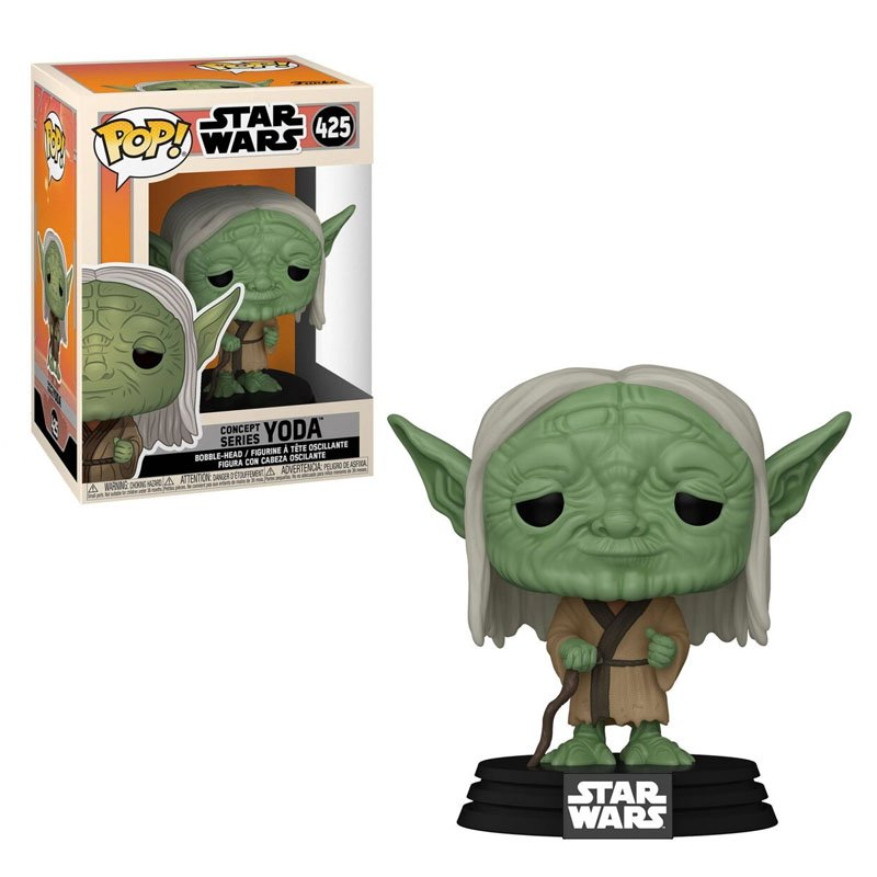 Фігурка Funko POP! Star Wars Concept - Yoda 10cm,арт. 50112 1