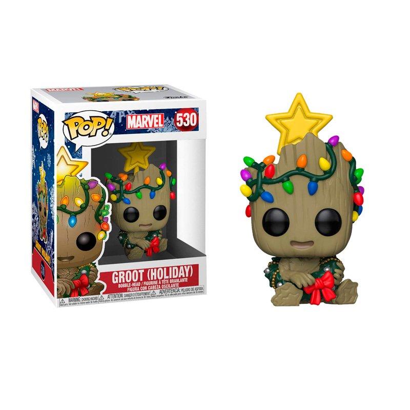 Фігурка Funko POP! Marvel Holiday - Groot Vinyl Figure 10cm FK 43333 1