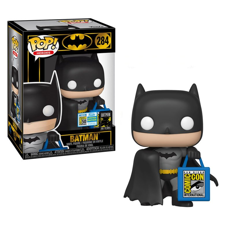 Фигурка Funko POP! DC: Heroes - Batman Limited Edition 2019 San Diego Comic Con exclusive, 41538 1