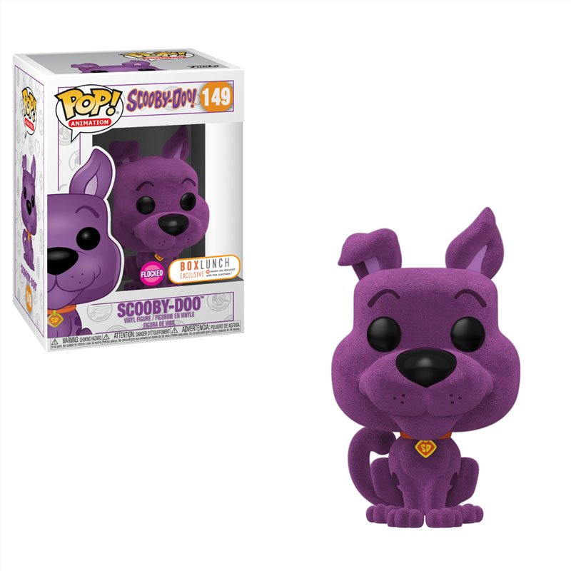 Фігурка Funko POP! Animation: Scooby-Doo - Scooby-Doo Flocked Box Lunch Exclusive Figure, арт. 43093 1