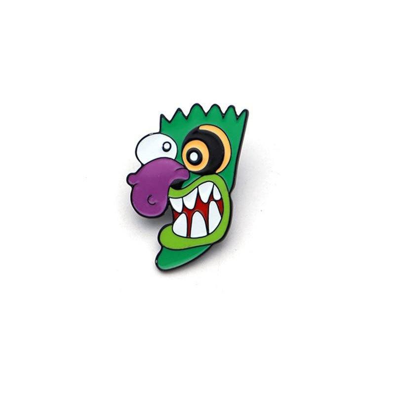 Металлический значок (пин) Courage the Cowardly Dog - Ooga Booga Mask, арт. 10141 1