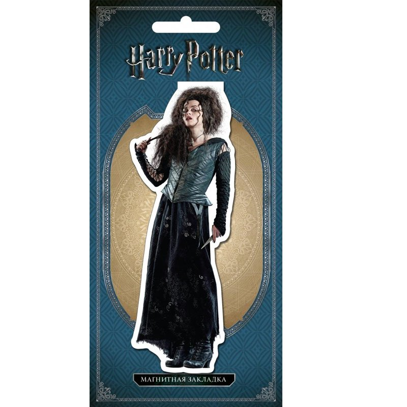 Фигурная магнитная закладка Harry Potter: Bellatrix Lestrange, арт. 147079 1