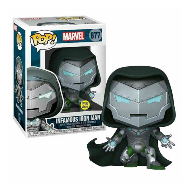 Фигурка Funko POP! Marvel: Infamous Iron Man Special Edition GITD Figure, арт. 36444 1