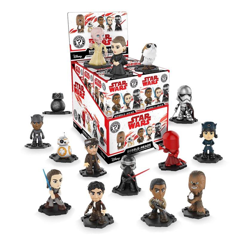 Набір фігурок Funko POP! Star Wars Episode 8 The Last Jedi - Mystery Mini Display Box (12 figures random packaged), 20247, 10 cm 1