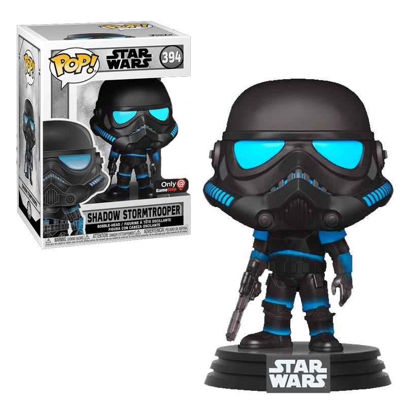 Фигурка Funko POP! Star Wars - Shadow Stormtrooper Only GameStop exclusive, арт. 49630 1