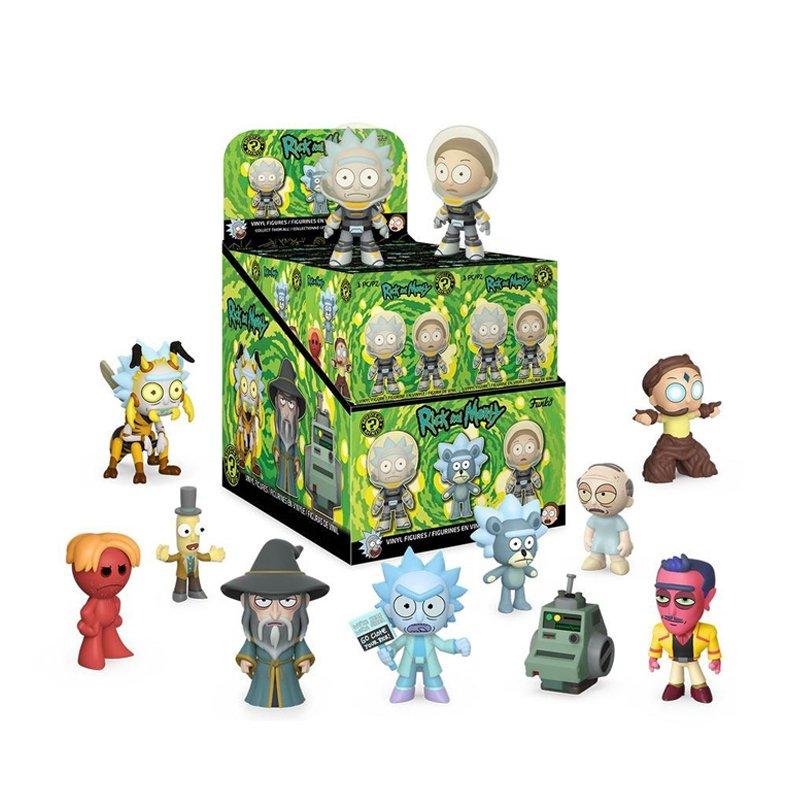 Набір фігурок Funko Mystery Mini Rick & Morty S2 - 45497, 12PC PDQ 1