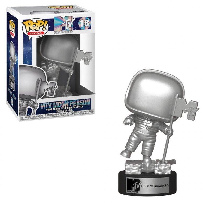 Funko POP! Icons MTV - Moon Person Vinyl Figure 10cm 1