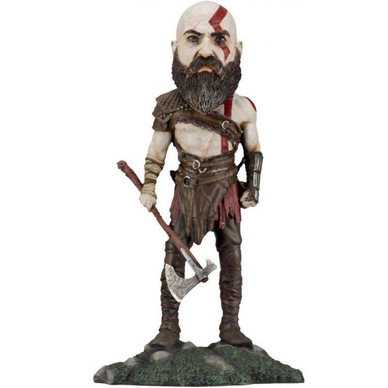 Фигурка NECA: God of War - Kratos Head Knocker Bobblehead, арт. 949319 1
