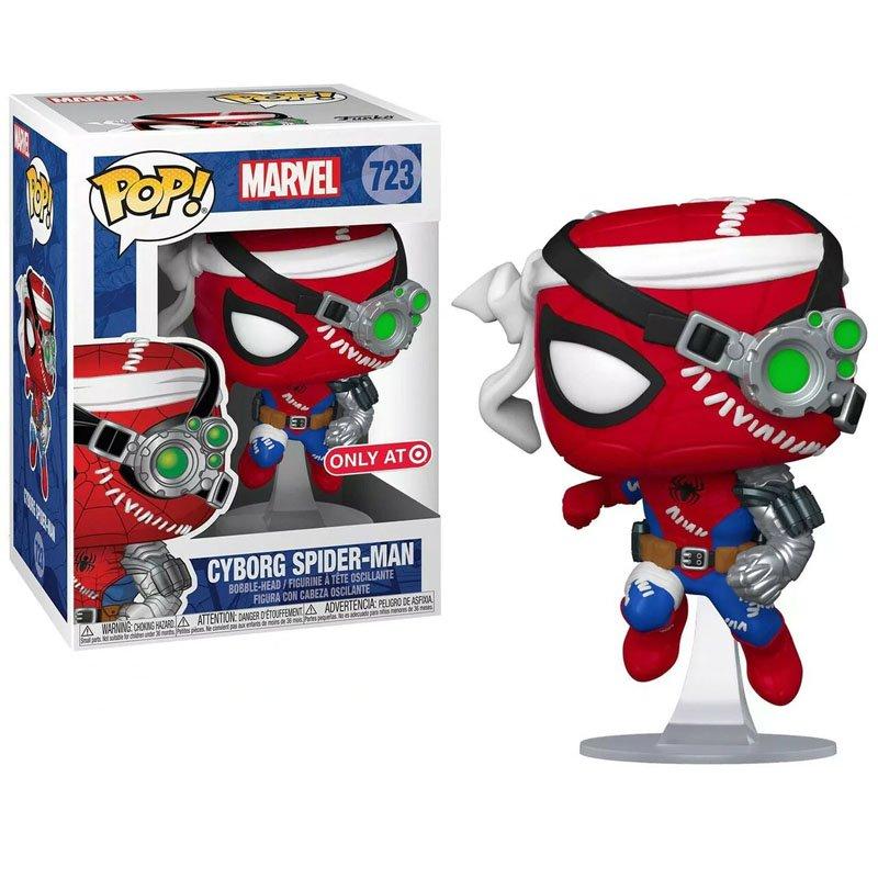 Фігурка Funko POP! Marvel - Cyborg Spider-Man Only AT exclusive, арт. 52242 1